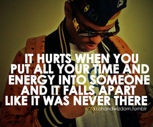 hurt, quote, and energy image