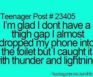 funny, thigh gap, and teenager post image