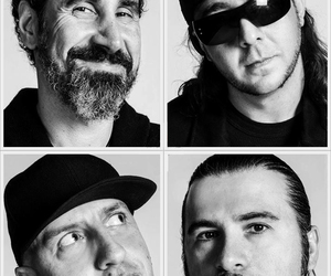 system of a down, serj tankian, and daron malakian image