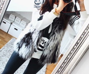 style, winter, and fashion image