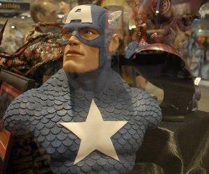 comics, captainamerica, and geek image