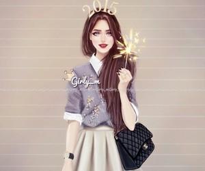 girly_m, 2015, and art image