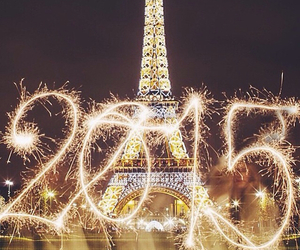 2015, happy new year, and paris image