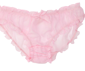 pink, transparent, and underwear image