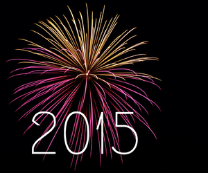 awesome, firework, and happy new year image