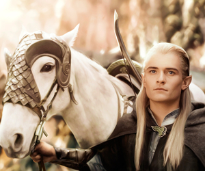 Legolas, LOTR, and orlando bloom image