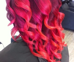 hair, red, and curly image