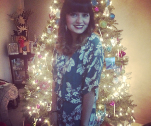 beauty, christmas tree, and frozen image