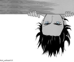 blue eyes, manga, and anime boy image