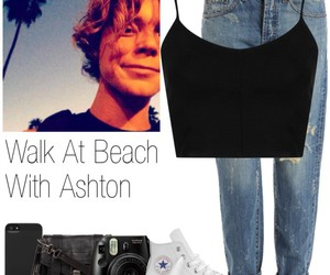 beach, 5sos, and ashtonirwin image
