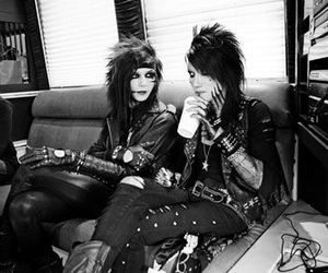 black veil brides, andy sixx, and andy biersack image