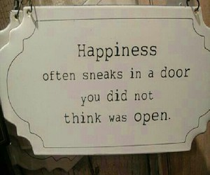 happiness, happy, and quote image