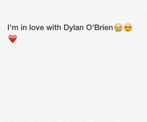 dylan, inlove, and obrien image