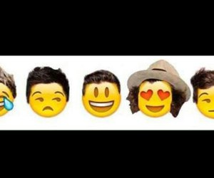 one direction and emojis image