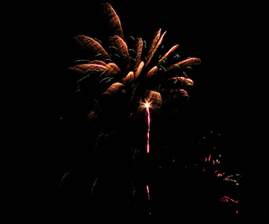 fireworks and night image