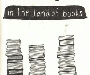 book, quotes, and land image