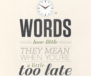 words, Late, and Lyrics image