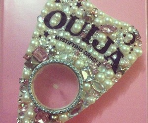 crystals, jewels, and ouija board image