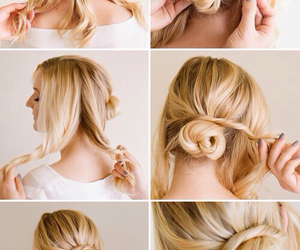 braid, tips, and hair image