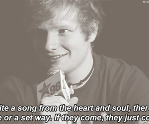 music, ed sheeran, and quote image
