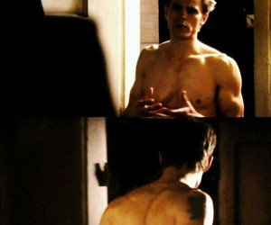 sexy, paul wesley, and tvd image