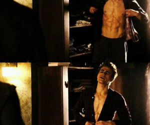 sexy, paul wesley, and stefan salvatore image