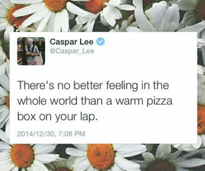 feelings, lap, and pizza image