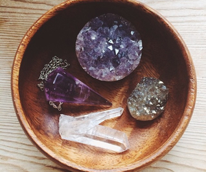 crystal and amethyst image