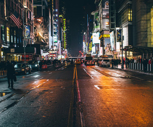 night, photography, and street image