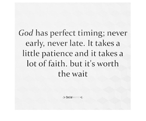 faith and patience image
