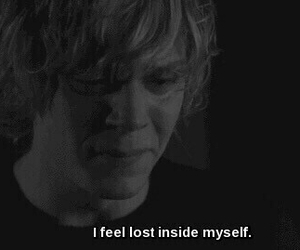 ahs, american horror story, and sad image
