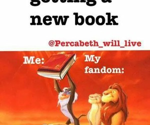 book, fandom, and funny image