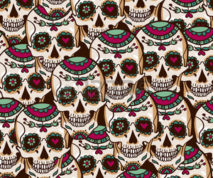 background and skull image