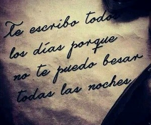 love, frases, and night image