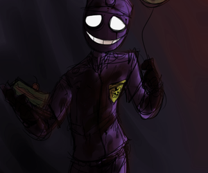 purple guy and fnaf image
