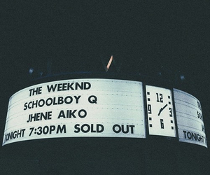 jhene aiko, concert, and the weeknd image