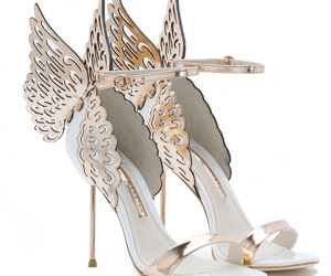 angel, butterfly, and shoes image