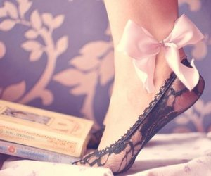 book, shoes, and pink image