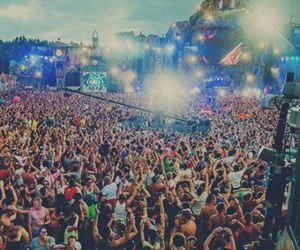 music, party, and Tomorrowland image