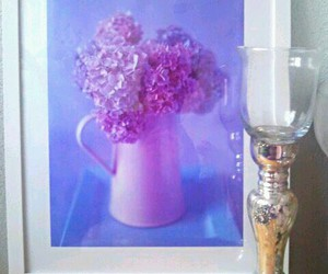 antique, candle, and flowers image