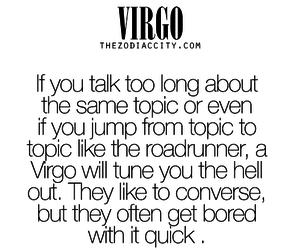horoscope, virgo, and zodiac image