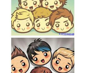 5 seconds of summer and one direction image