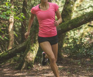 running, fitness, and healthy image