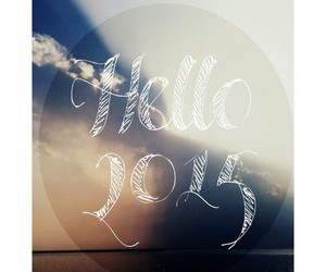 happy new year, hello 2015, and 2015 image