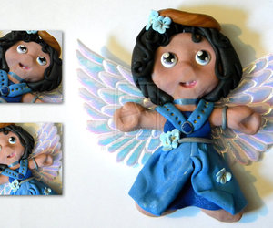 angel, doll, and ornament image