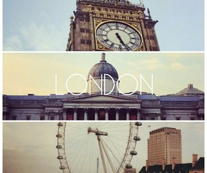 Big Ben, journey, and london image