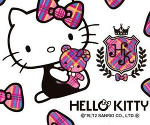background and hello kitty image