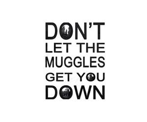 muggles, harry potter, and hogwarts image