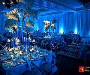 blue, centerpiece, and theme image