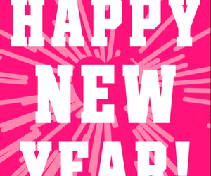happy new year, vs pink, and new year image